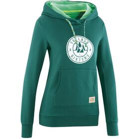 Edelrid Spotter III Hættetrøje Damer, grøn